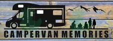 CAMPERVAN MEMORIES STICKER DECAL AUTO SLEEPER AUTO TRAIL LUNAR ELDDIS SWIFT