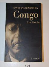 EL1 Ouvrage CONGO UNE HISTOIRE ACTES SUD