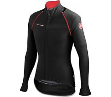 Castelli CONVERTIBLE CYCLING JACKET XXL,Wind Protection,Water Repellent BLACK