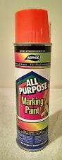 Aervoe All Purpose Aerosol Marking Paint - Case of 12 - 15 oz net wt. - Orange