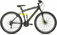 Mens Mountain Bike Full Suspension Bicycle Commuter Off Road Adult Front Disc