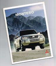 2006 Mitsubishi Montero FOLLETO / con tabla de colores: LIMITED, AWD ,4wd,