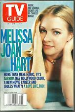 TV GUIDE-10/1999-SABRINA THE TEENAGE WITCH-EMMYLOU HARRIS-LINDA RONSTADT