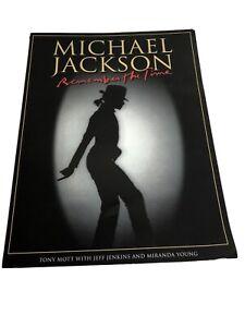 MICHAEL JACKSON Remember The Time Magazine 2009 Souvenir Junk Journal