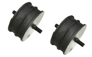 Land Rover Defender Rubber Engine Mounts Mounting Rubbers x2 - ANR1808 New