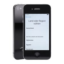 Apple iPhone 4s 16GB schwarz iOS Smartphone Retoureware aussen wie neu