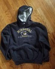 Missouri Mizzou MU Tigers Football Hoodie Sweatshirt size: Large (14-16)