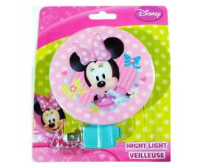 Disney Minnie Mouse Night Light - Room, Bathroom, Hallway Lights