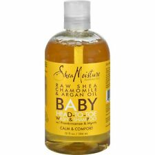 Shea Moisture Raw Shea Chamomile & Argan Oil Baby Head-To-Toe Wash & Shampoo.