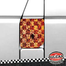 vw transporter T4 fuel flap wrap ratlook rust checkers oilcan original
