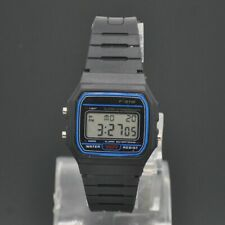 Casio Men's F91W-1 Clasic Black LED Digital Resin Strap Wrist Watch High Quality
