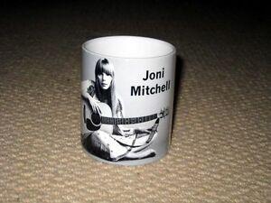 Joni Mitchell Awesome BW MUG