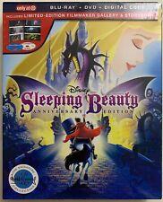 NEW DISNEY SLEEPING BEAUTY BLU RAY DVD 2 DISC SET TARGET EXCLUSIVE DIGIPACK BOOK