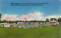 Postcard Howard Johnson's Motor Lodge Savannah GA