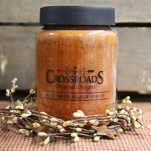 Crossroads Candle 26 Ounces - Buttered Maple Syrup
