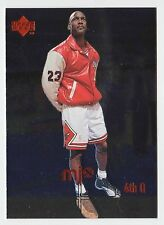 Michael Jordan 1998 UD MJx Timeline SALUTE TOP 50 PLAYERS OF ALL TIME Card