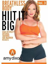 AMY DIXON BREATHLESS BODY 3 HIIT IT BIG TABATA EXERCISE DRILL DVD NEW SEALED