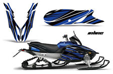 YAMAHA APEX GRAPHIC KIT AMR RACING SNOWMOBILE SLED WRAP DECAL 12-13 INLINE BLUE