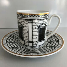 Rosenthal PALLADIANA Piero Fornasetti COFFEE CUP and Saucer