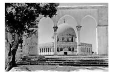 Palestine Dome of the Rock JERUSALEM 2nd view 1942 Middle East Modern postcard