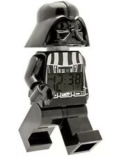 LEGO Kids Star Wars Darth Vader Mini-Figure Alarm Clock Digital Screen Moveable