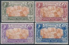1923 ITALIA REGNO PROPAGANDA FIDE SERIE 4 FRANCOBOLLI - RE16-2