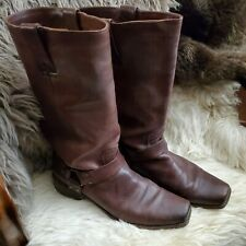 Frye Smith Harness Boot, Brown, Gorgeous, Size 11