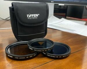 Tiffen Variable Neutral Density Filters - 77mm, 67mm, 58mm