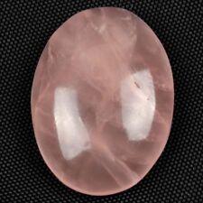 Grande 20x15mm Corte Cabujón Ovalado Piedra Preciosa Cuarzo Rosa Natural