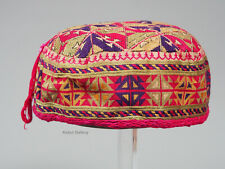 hand embroidered Women's Caps and Ceremonial Headdress Gilgit-Baltistan No:21/F