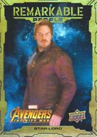 2018 Marvel Avengers Infinity War Remarkable People Inserts #RP14 Star-Lord
