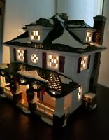 """Department 56 Snow Village """"Crosby House """" #55056 Retired New  & Beautiful!"""