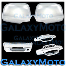 05-12 Chevy Colorado+Canyon Chrome Mirror+2 Door+NO PSG KH+Tailgate Handle Cover