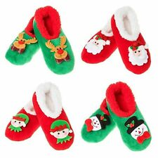Snoozies cosy  foot coverings Style Christmas Cameos Colour Multi Sz Various new