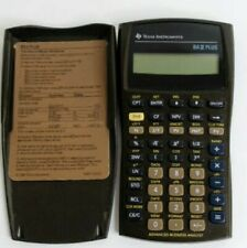 Texas Instruments Business Analyst BA II Plus BA2 Plus Financial Calculator