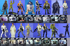 STAR WARS POTF2 CHOOSE LUKE HAN R2-D2 C-3PO D S DROID ENDOR BIGGS MOTHMA LOOSE