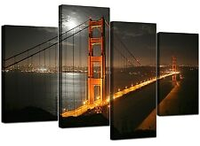 Grand San Francisco Golden Gate Bridge Canvas Art 130cm IMPRIME XL 4038