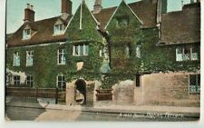 rppc: 17th c. house in Higham Ferrers