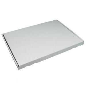 100 Piece Large Envelope Boxes White din A4 +350x250x20mm Folding Cartons 100x