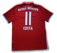 Costa #11 Bayern Munich 2016 - 2017 Home Football Soccer Shirt Jersey Adidas Kit