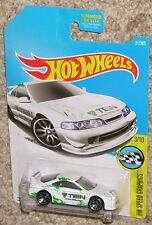 2017 HOT WHEELS Custom '01 Acura Integra GSR TEIN #31 White Toy Car MOC HW