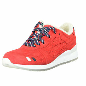 KithX MonclerX Asics Gel-Lyte III Suede Leather Fashion Sneakers Shoes 8.5 9.5