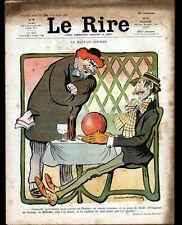 "JOURNAL ""LE RIRE"" N°180 du 14.07.1906 / Nu illustré PREJELAN, GUILLAUME, MIRANDE"
