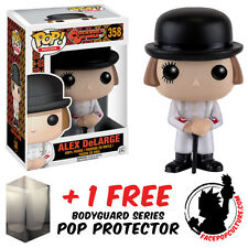 FUNKO POP A CLOCKWORK ORANGE ALEX DELARGE VINYL FIGURE + FREE POP PROTECTOR