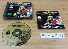 Sony Playstation PS1 Coupe Du Monde FIFA 2002 PAL