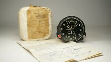 NEW! Russian Soviet USSR Military AirForce Aircraft Cockpit Clock AChS-1! USA