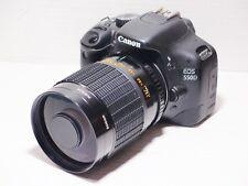 Lente de 500 mm = 750 mm En Canon Digital 7D 70D 60D para fotografía de vida silvestre 500D EOS
