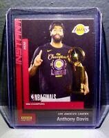 Anthony Davis 2020 Panini LA Lakers NBA Champions #8 Basketball Card