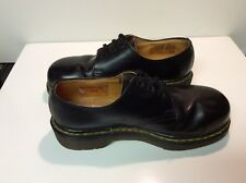 Dr Martens 3 Eyelet Steel Toe ?Black Smooth Leather UK Size 5 Made in England