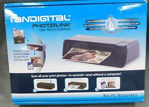 Pandigital PhotoLink One-Touch Scanner PANSCN02 No PC Required Simple One Touch